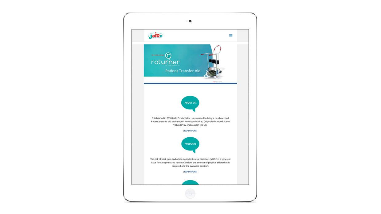 Ohlssonmedia-seo-niagara-portfolio-Jaide-products-tablet